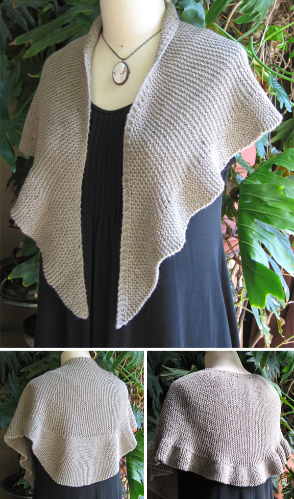 Knitting Pattern for To Eyre Shawl