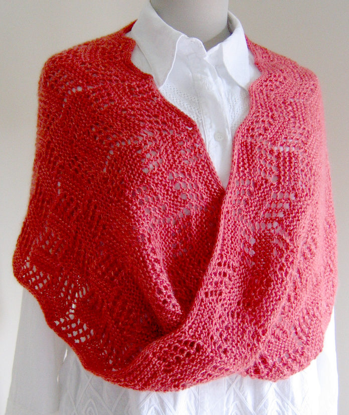 Free Knitting Pattern for Topsy Turvy Moebius