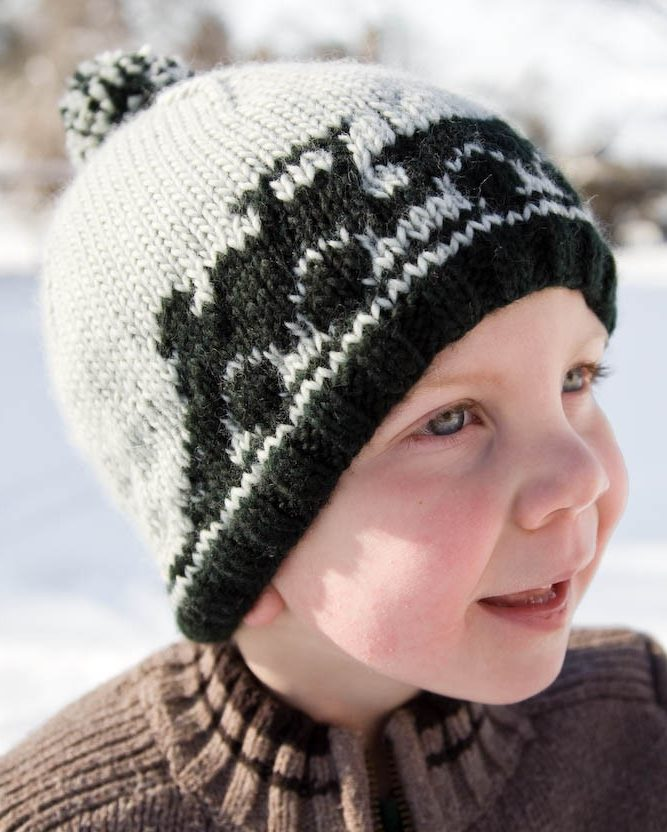 Knitting Pattern for Train Hat