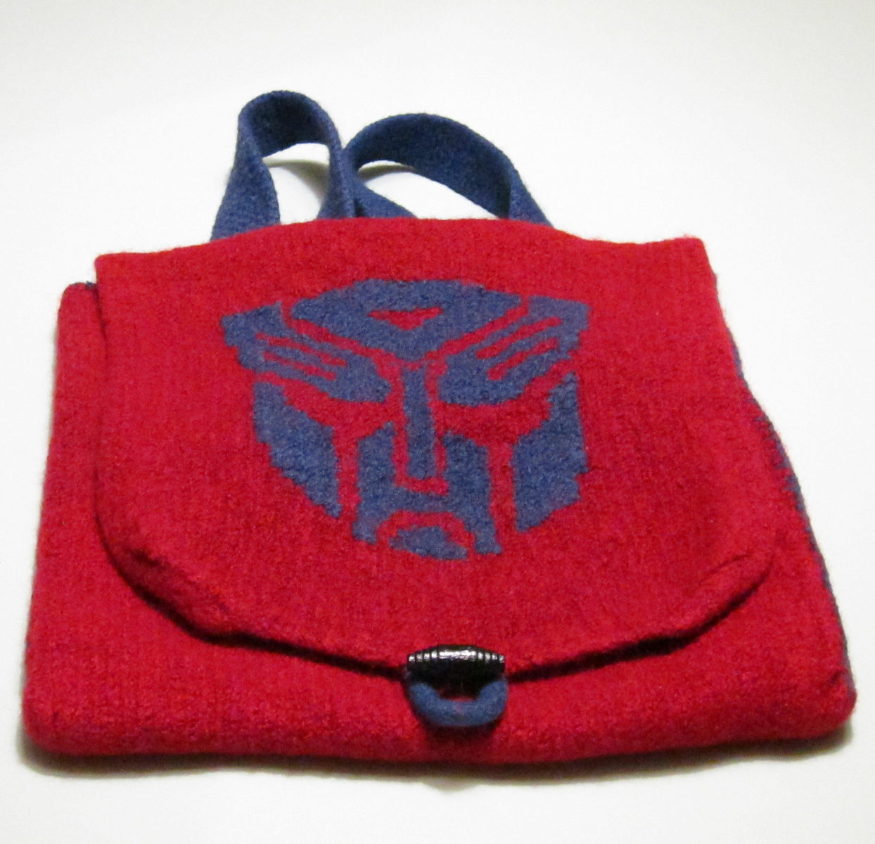 Free Knitting Pattern for Transformers Backpack