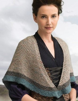 Knitting Pattern for Rent Shawl