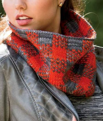 Knitting Pattern for Trapper Cowl