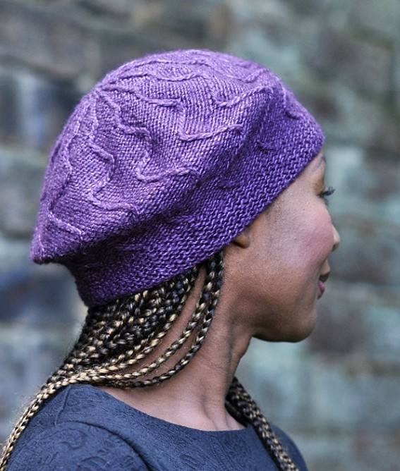 Knitting Pattern for Traversa Beret