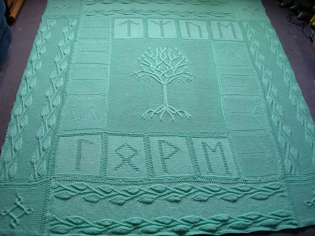 tree of gondor blanket
