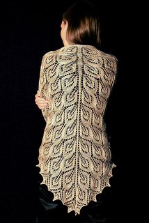 Tree of Light Shawl Free Knitting Pattern