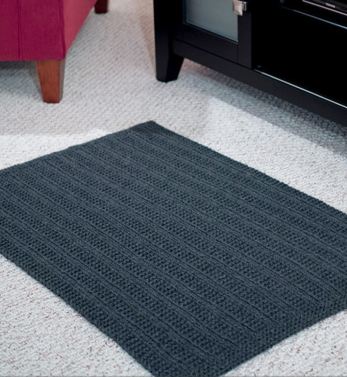 Knitting Pattern for Tromso Reversible Rug