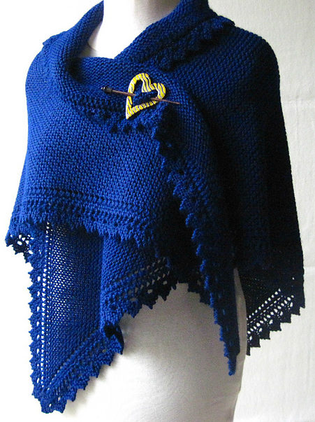 Free Knitting Pattern for Truly Tashas Shawl