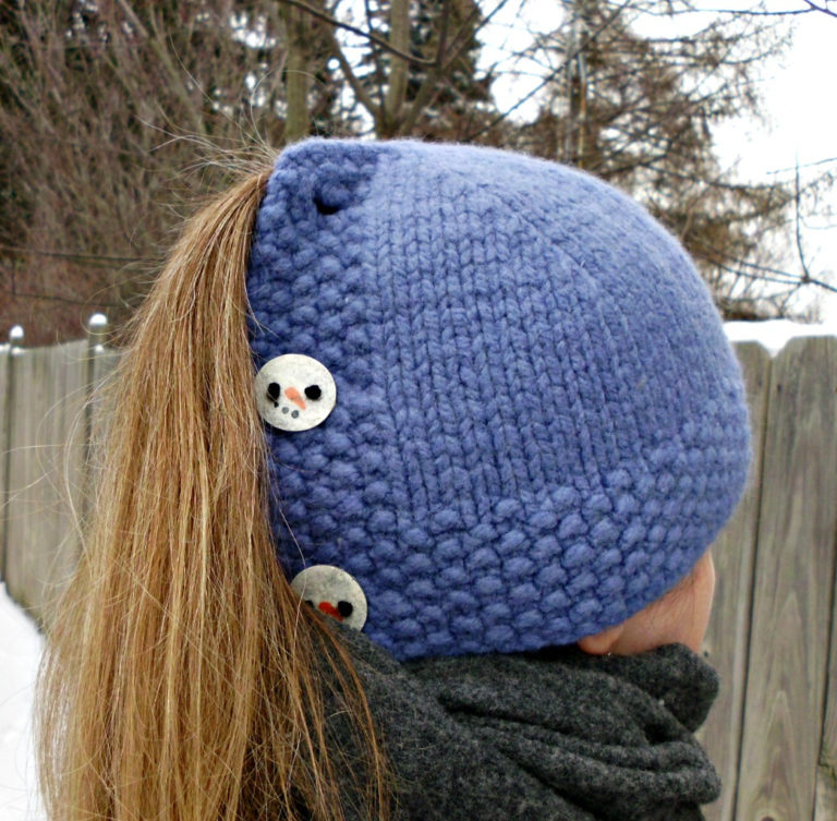 Free Knitting Pattern for Tundra Cardigan Hat