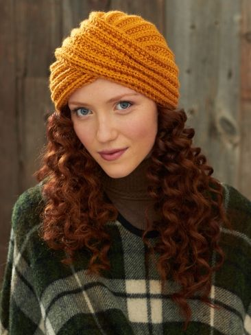 Turban Twist Hat | Free Knitting Patterns | Yarnspirations
