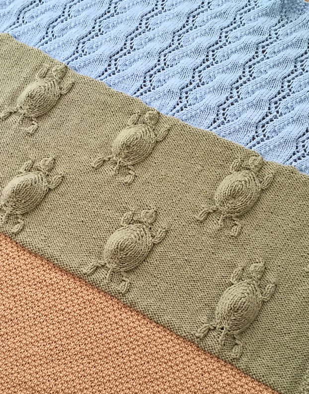 Knitting Pattern for Turtle Journey Blanket