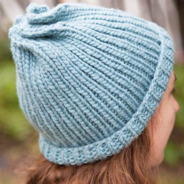 Free Knitting Pattern and Class for Twist Hat