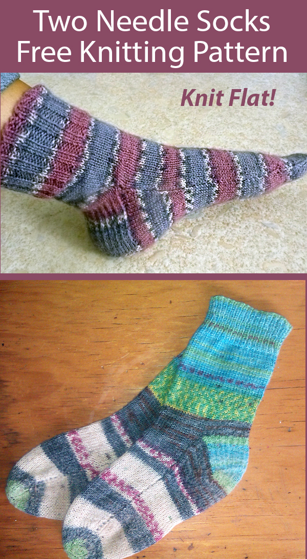 Two-Needle Sock Knitting Patterns - In the Loop Knitting