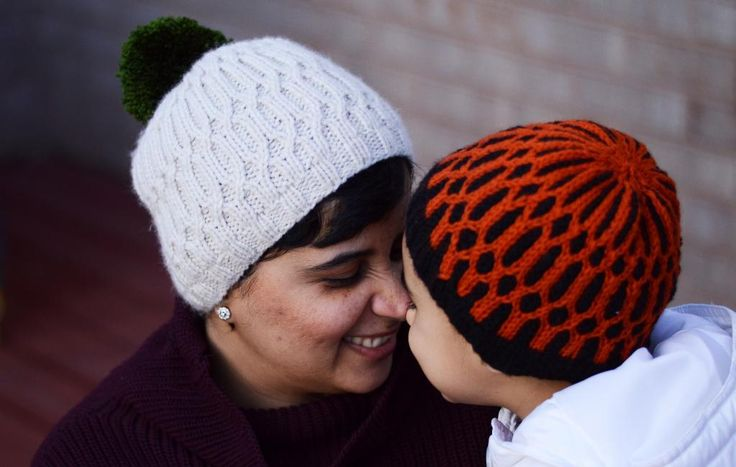 Free knitting pattern for Uljhan Beanie and more beanie hat patterns