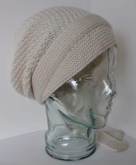 Free slouchy hat knitting pattern Do It Yourself Peasant Cap and more slouchy  hat knitting patterns 19c4ea0abb0