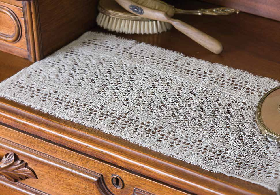 Table Runner knitting pattern and more household knitting patterns