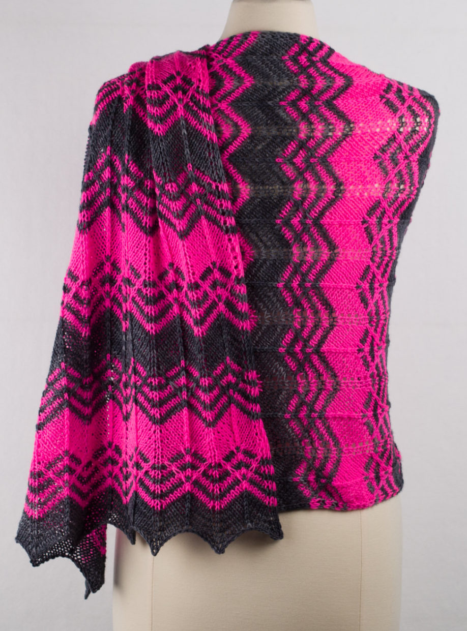 Knitting Pattern for Vacillate Wrap