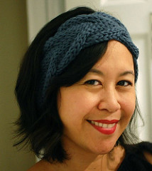 Free knitting pattern for Vanessa cable headband and more headband knitting patterns