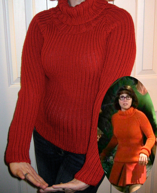 Knitting Pattern for Velma Sweater