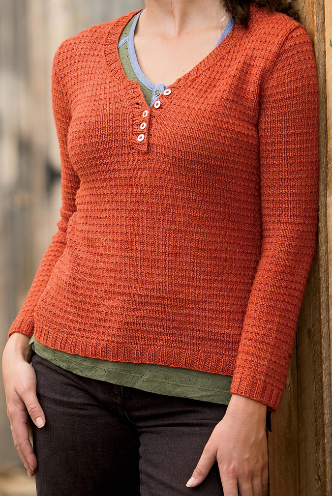 Knitting Pattern for Verchères Pullover