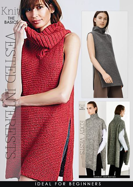 Vest Knitting Patterns In The Loop Knitting