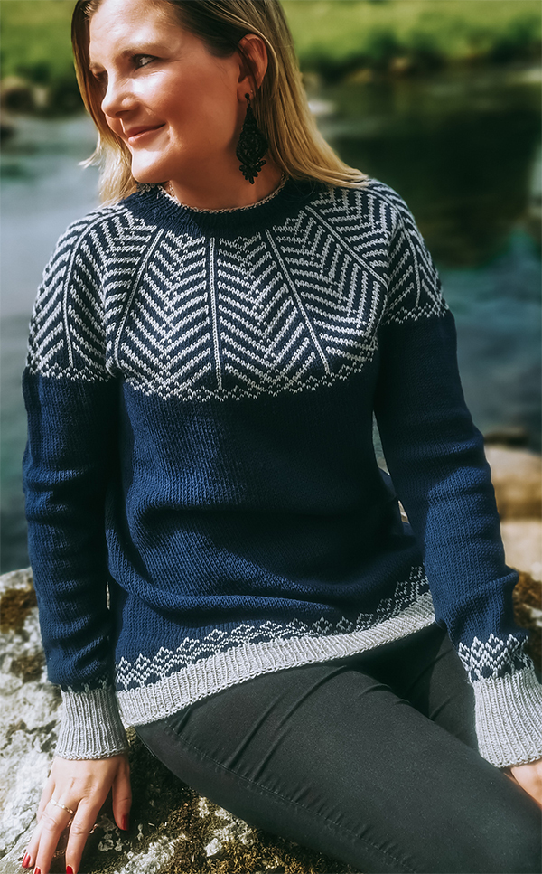 Free until Dec 31, 2020 Knitting Pattern for Victory Sweater