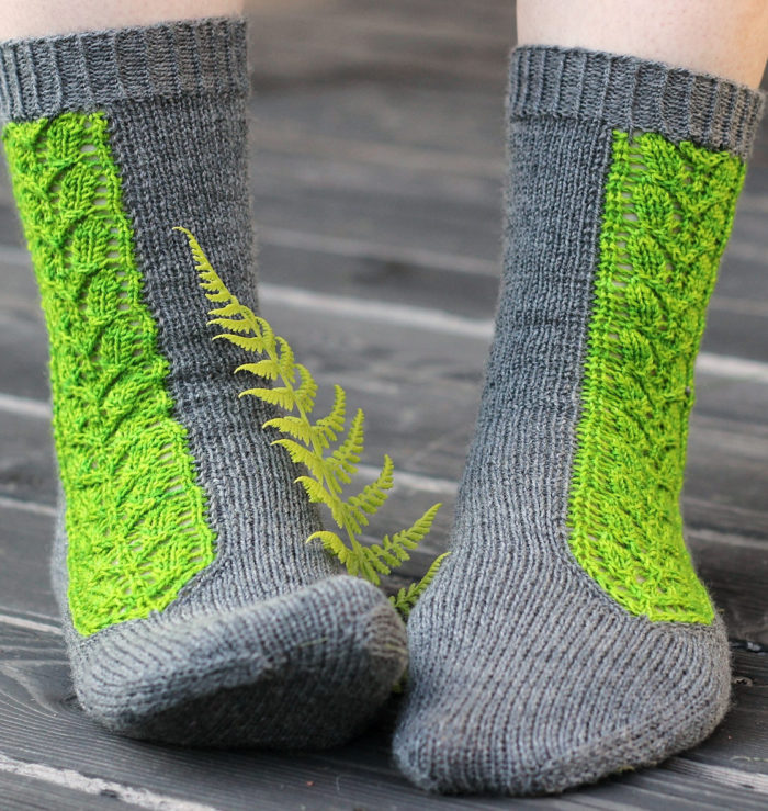 Free Knitting Pattern for Villiviini Socks