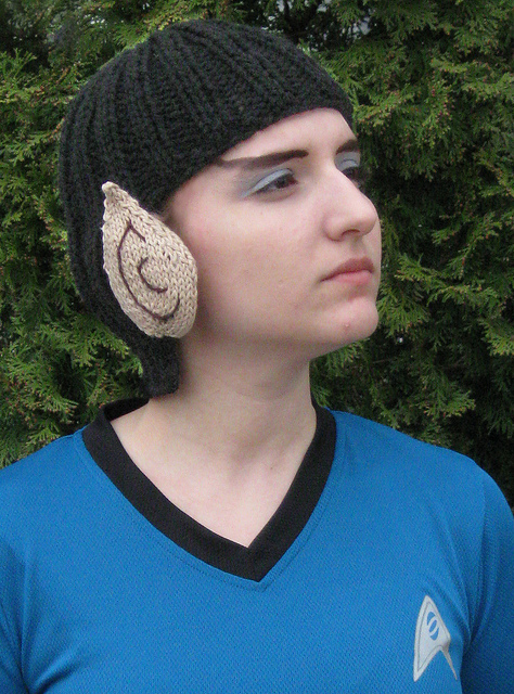 Live Long and Keep Warm Free Knitting Pattern and more fun hat knitting patterns