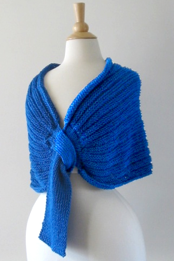 Free Knitting Pattern for Wager Welt Wrap