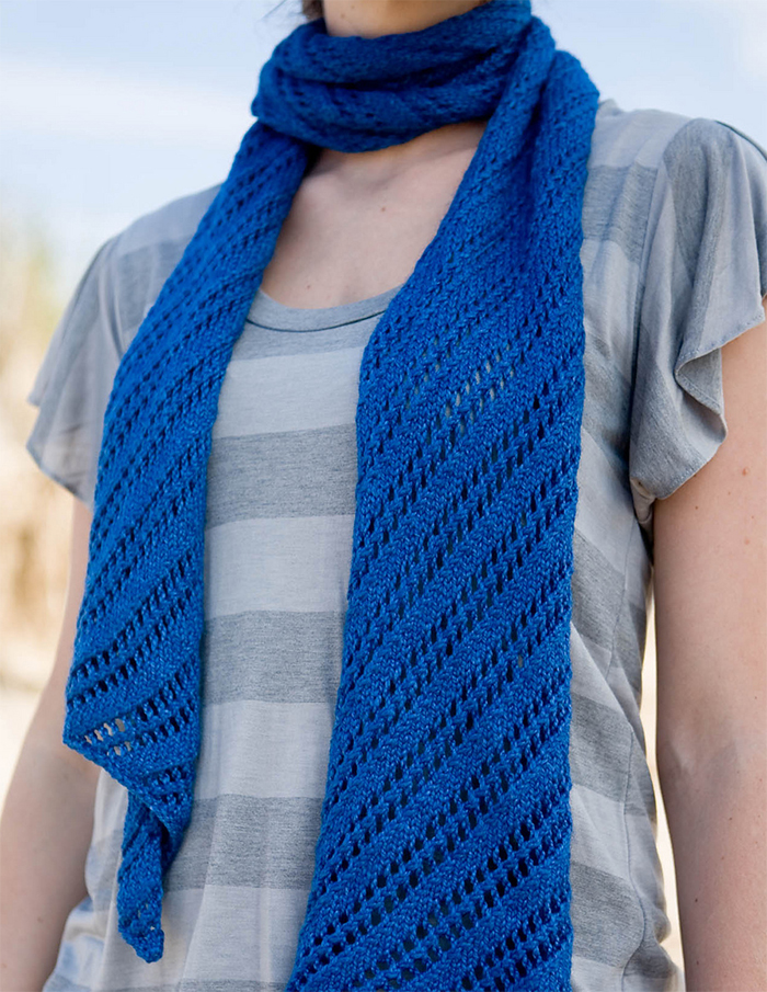 Free Knitting Pattern for Easy Wakefield Scarf