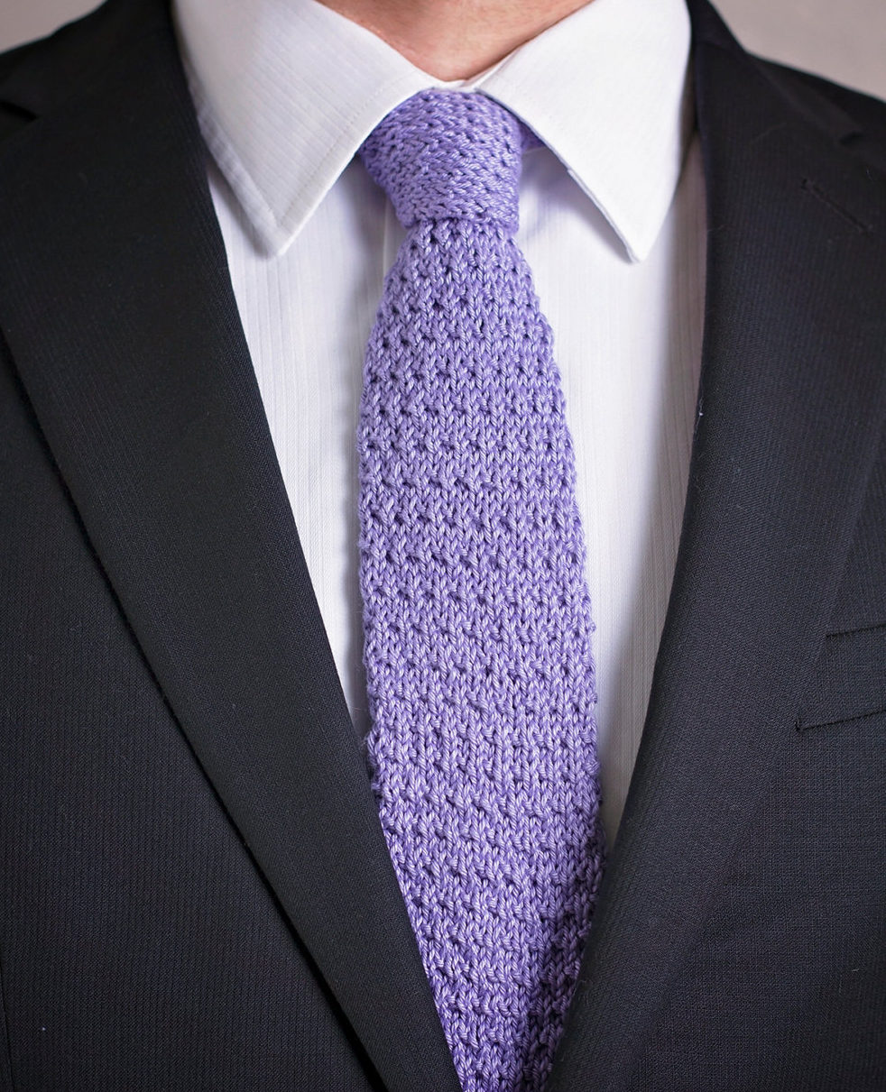 Knitting Pattern for Wakefield Tie