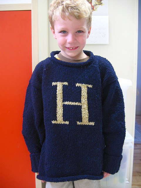 Weasley Sweater Free Knitting Patterns