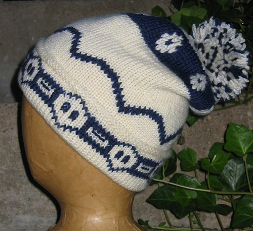Weasley Twins Ski Cap Free Knitting Pattern and more Harry Potter inspired knitting patterns