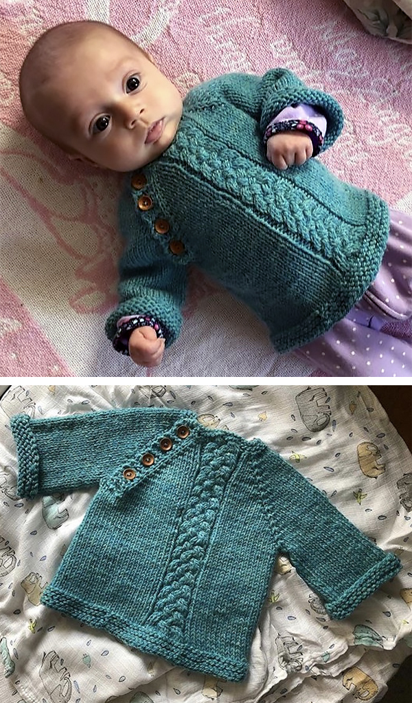 8bb339e19335 Easy-On Pullovers for Babies and Children Knitting Patterns - In the ...