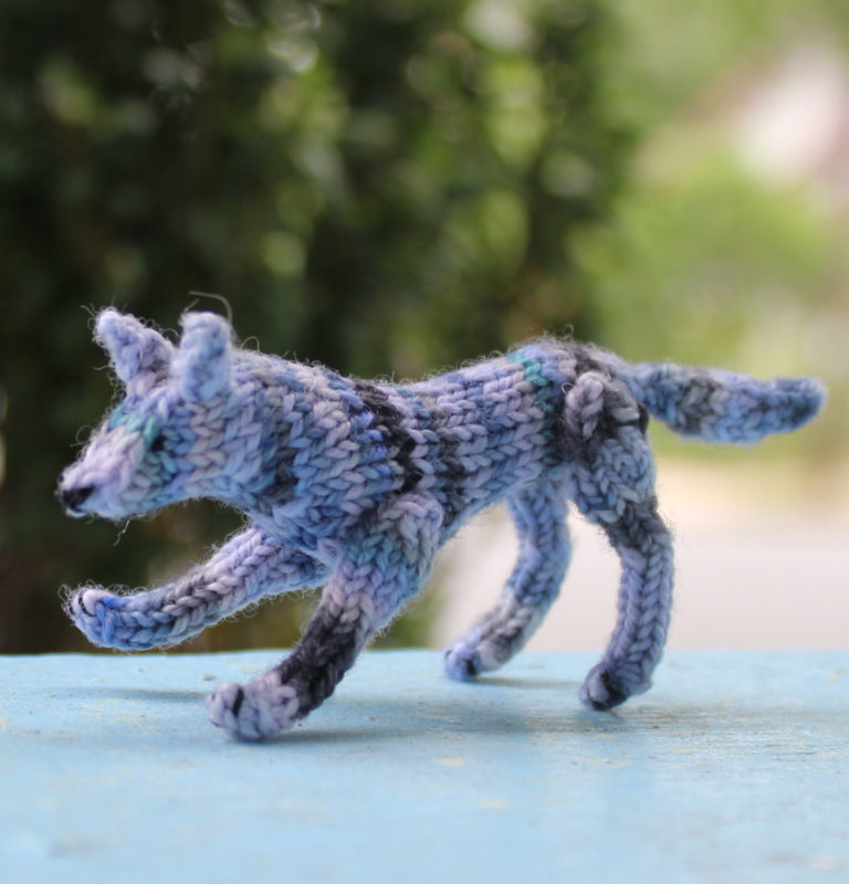 Knitting Pattern for Wee Wolf