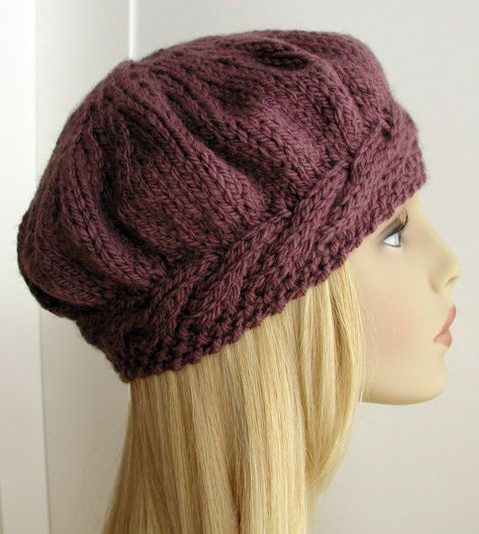 Knitting Pattern Weekend Beret