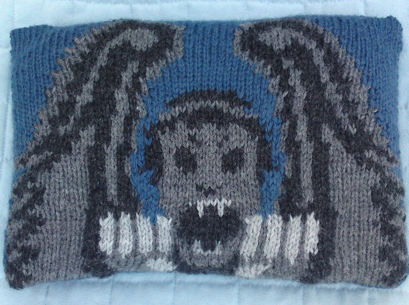 Free Knitting Pattern for Weeping Angel Attack