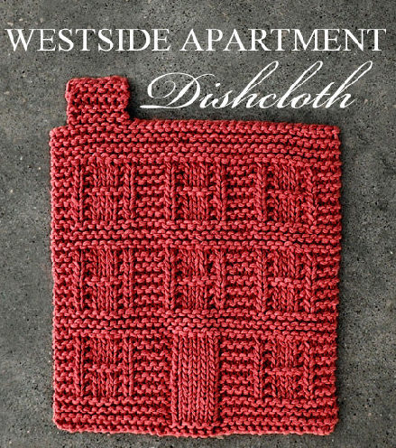 Knitting Pattern for Westside Apartment Dishcloth