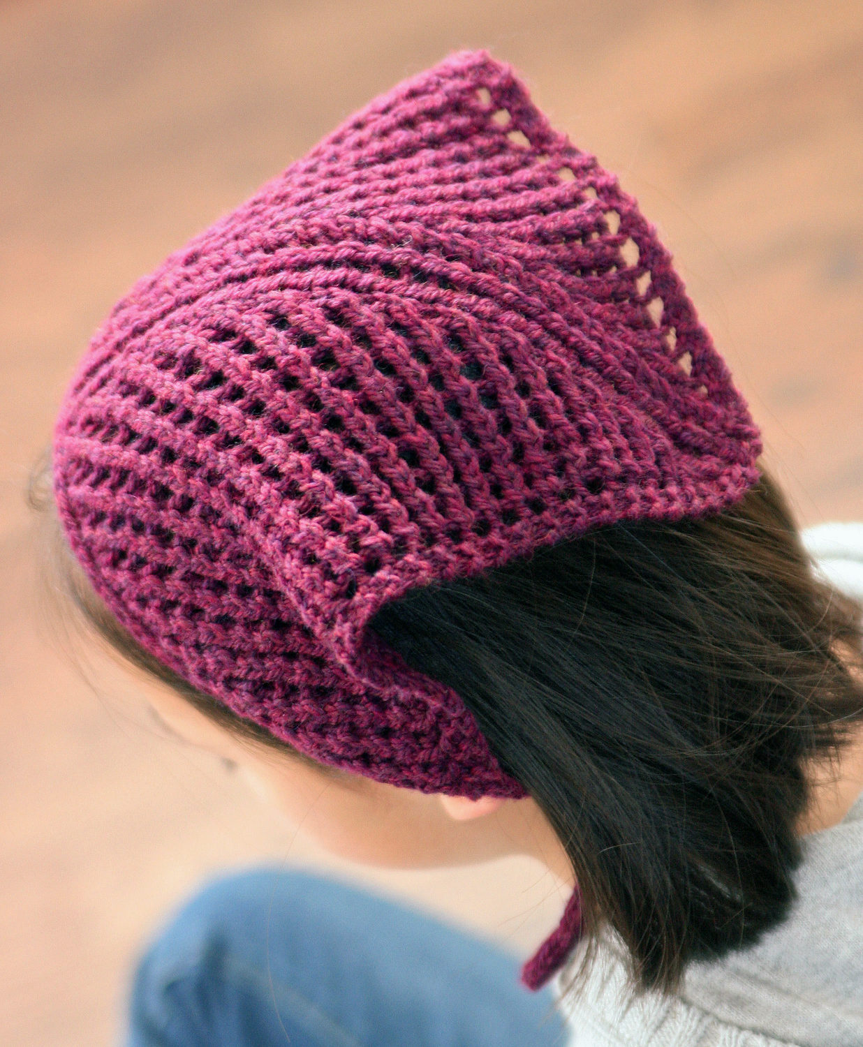 Free Knitting Pattern for Whimsy Kerchief