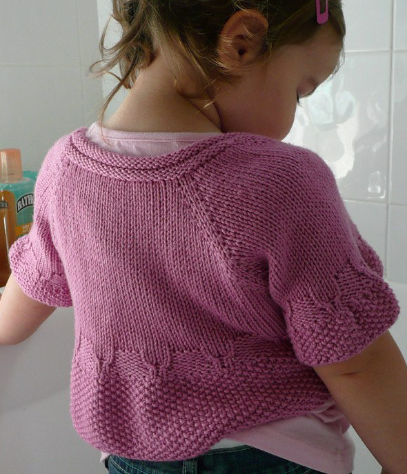Knitting Pattern for Whirligig Shrug