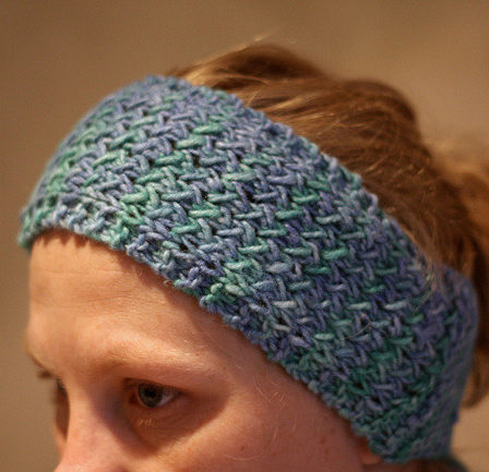 Free Knitting Pattern for Whistler Head Band