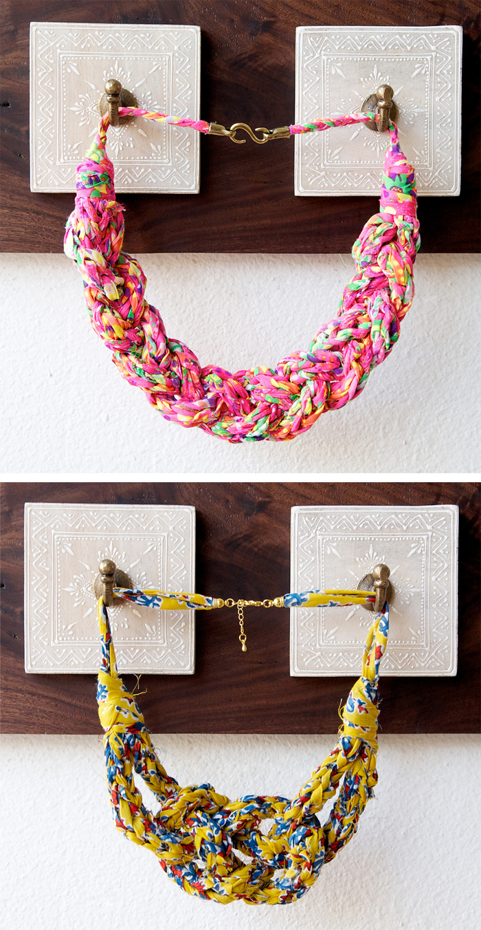 Knitting Kit for Wildflower Necklace