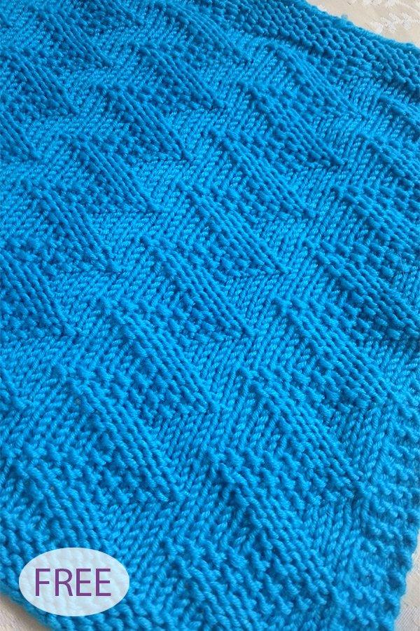 Free Knitting Pattern for Easy Willem's Blanket