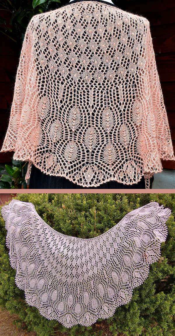 Free for a Limited Time Knitting Pattern for Wings of a Prayer Shawl