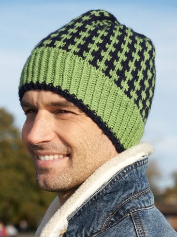 Free knitting pattern for men s hat and more knitting patterns for men 42da1a298b1
