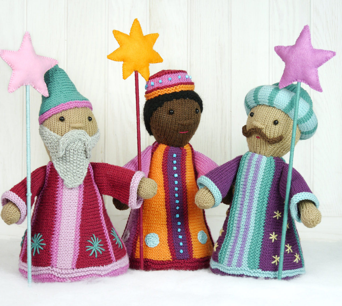 Knitting Pattern for Three Wise Men