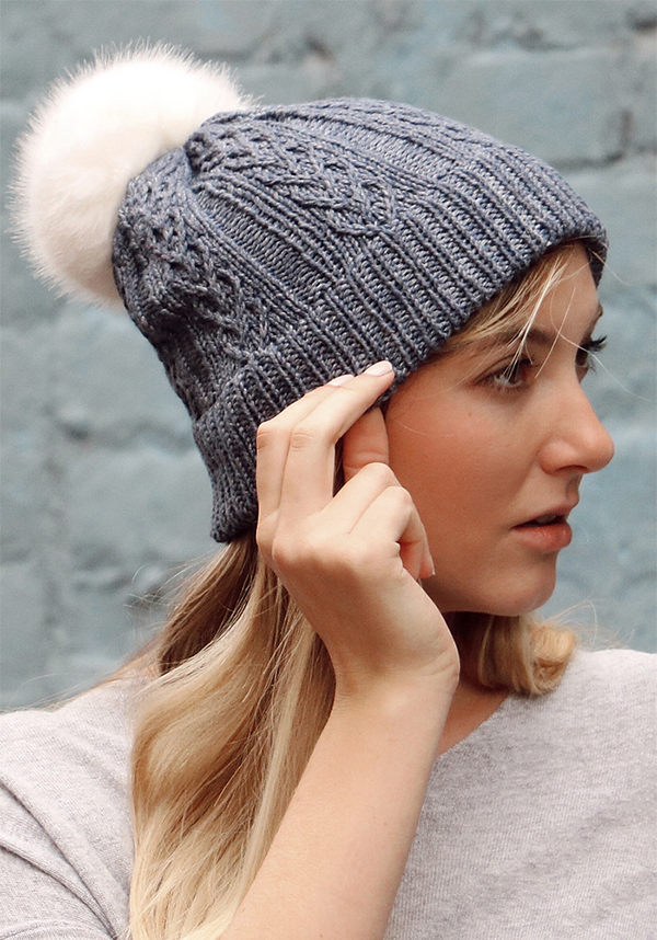 Free Knitting Pattern for With Love Hat