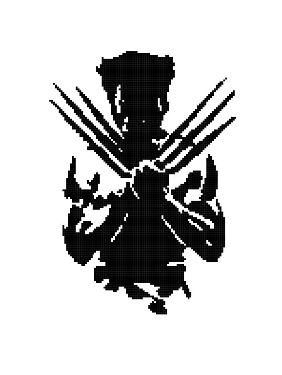 Knitting pattern for Wolverine Blanket