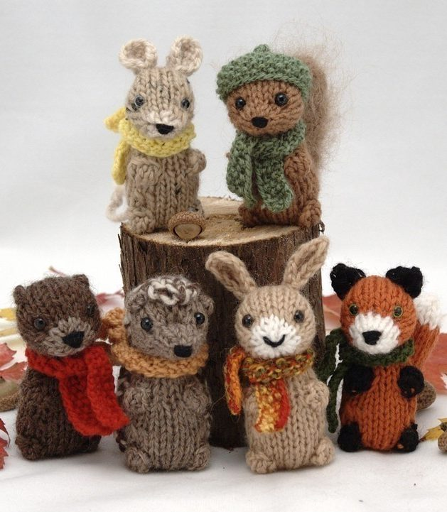 Knitting Pattern for Wee Woodland Wuzzies