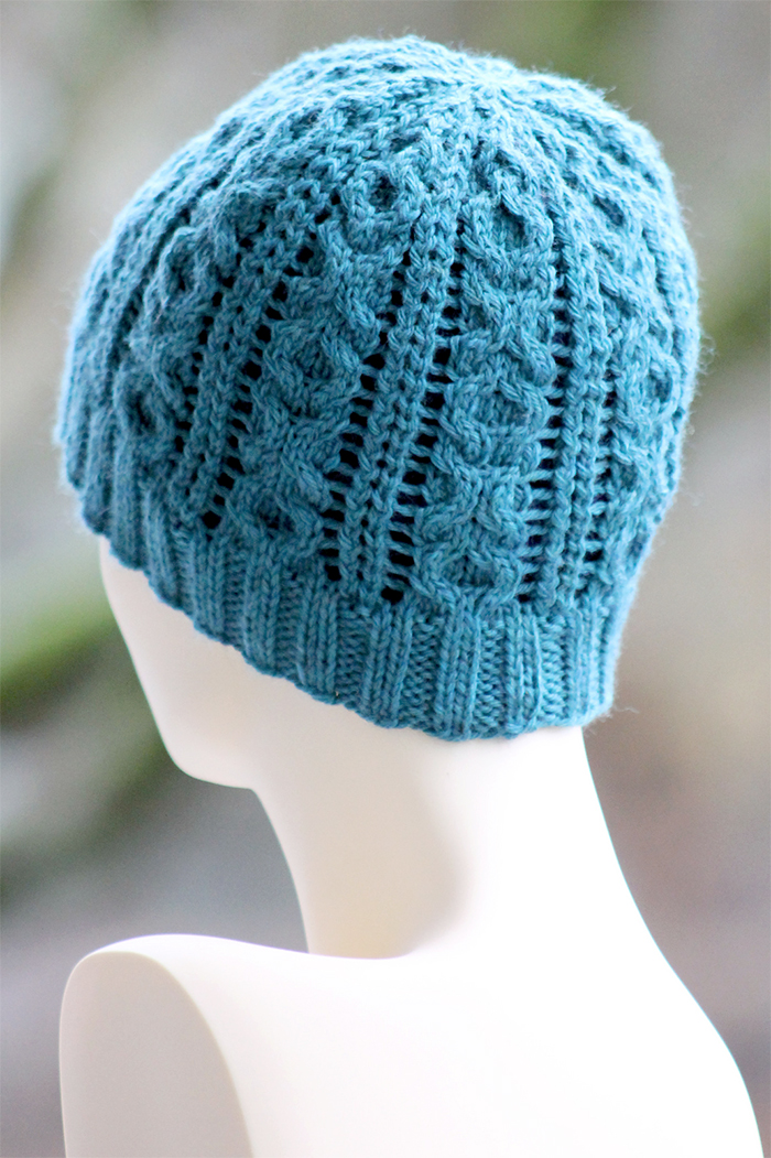 Free Knitting Pattern for XOXO Beanie