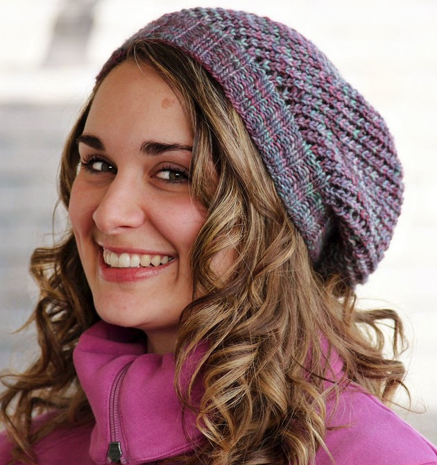 0962451d946c28 Slouchy Beanie Knitting Patterns- In the Loop Knitting